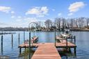 Private Pier and Lift w/Water & Electric Service - 1128 ASQUITH DR, ARNOLD