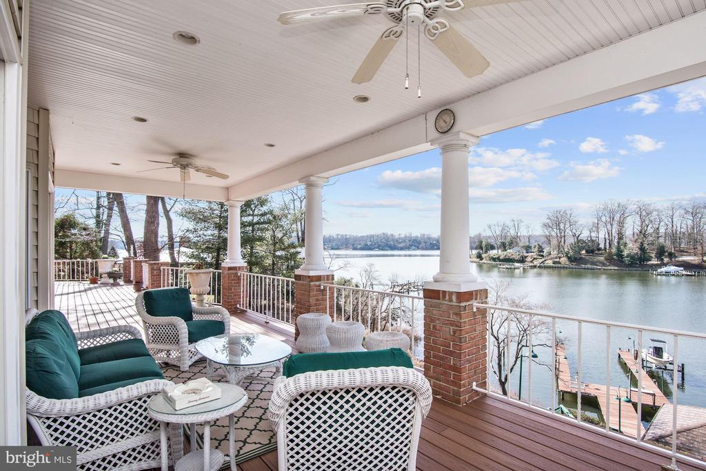 Main Level Trex Deck - 1128 ASQUITH DR, ARNOLD