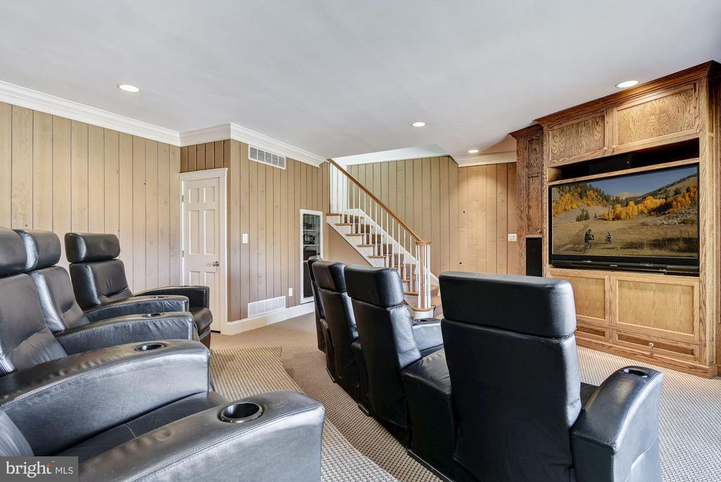 Theater Room and Secondary Back Stair - 1128 ASQUITH DR, ARNOLD