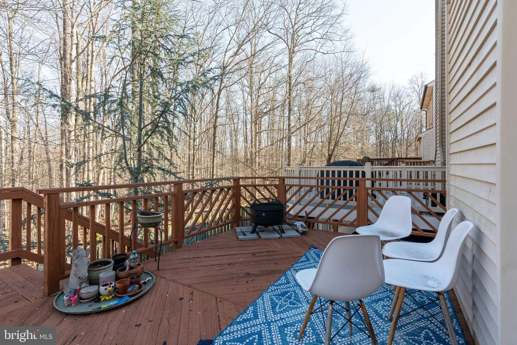 Large deck  for relaxing - 6253 RATHLIN DR, SPRINGFIELD