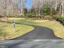Driveway entrance - 12400 FAIRFAX STATION RD, CLIFTON