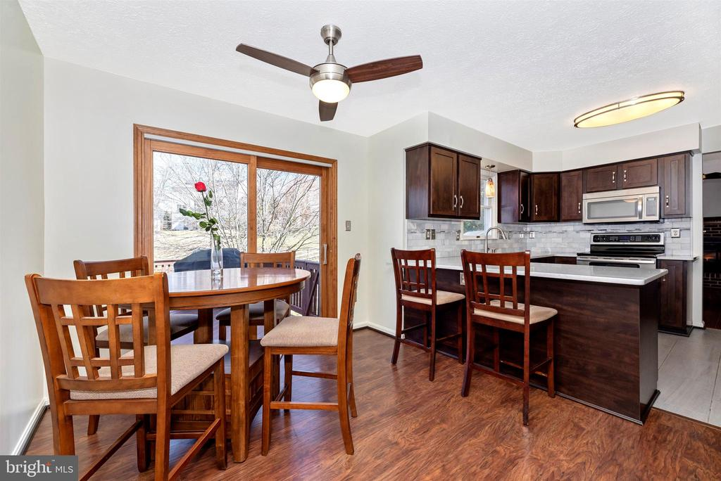 Kitchen/Table Space - 6024 DOUGLAS AVE, NEW MARKET