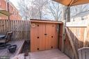 Deck with Shed - 2354 HORSEFERRY CT, RESTON