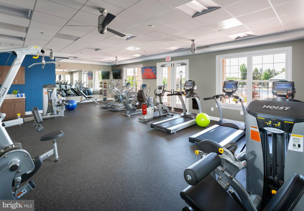Fitness Center at Lenah Mill - 41310 SWEET AZALEA DR, ALDIE