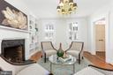 Living Room - 1406 29TH ST NW, WASHINGTON