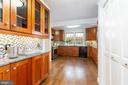 Kitchen - 1406 29TH ST NW, WASHINGTON