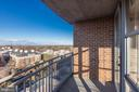 View from Master Balcony - 11800 SUNSET HILLS RD #1108, RESTON