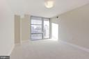 Master Bedroom with Private Balcony - 11800 SUNSET HILLS RD #1108, RESTON