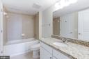 Guest Bath - 11800 SUNSET HILLS RD #1108, RESTON