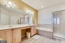 Master Bathroom With Double Vanity - 47640 PAULSEN SQ, STERLING