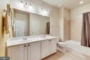Upper Level Hall Bathroom With Dual Vanity - 47640 PAULSEN SQ, STERLING