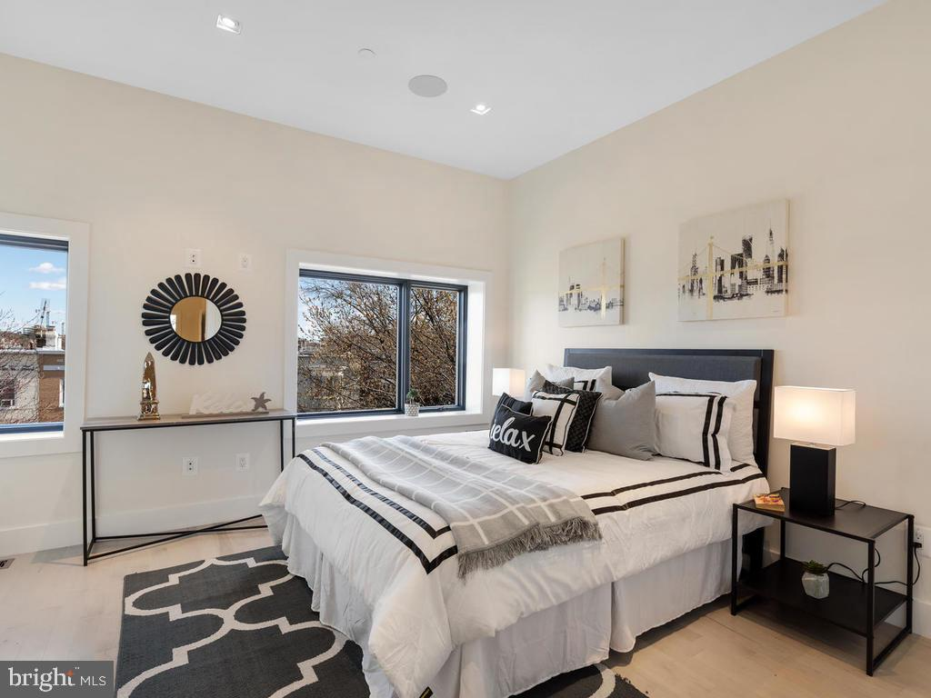 1st Master Bedroom - 1530 3RD ST NW #2, WASHINGTON