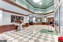 Lobby with Concierge - 11800 SUNSET HILLS RD #1108, RESTON