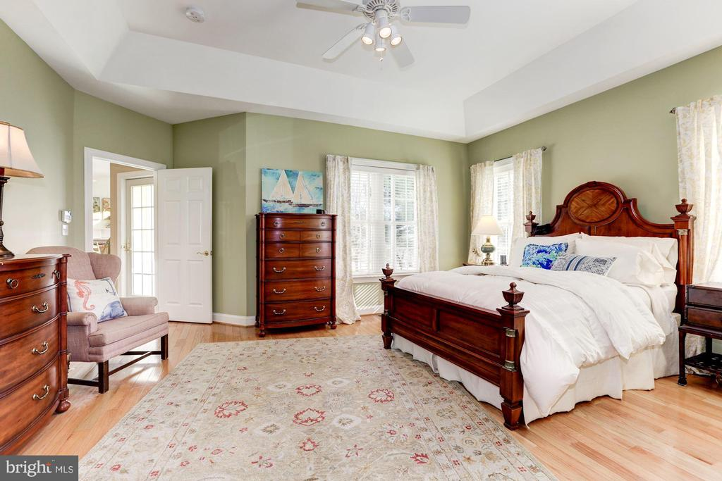 Main level Owner's suite - 2407 FLAG MARSH RD, MOUNT AIRY