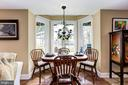 Lower level table space - 2407 FLAG MARSH RD, MOUNT AIRY
