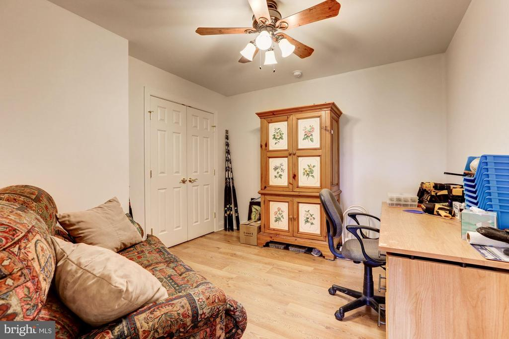 Extra room used as a den - 2407 FLAG MARSH RD, MOUNT AIRY