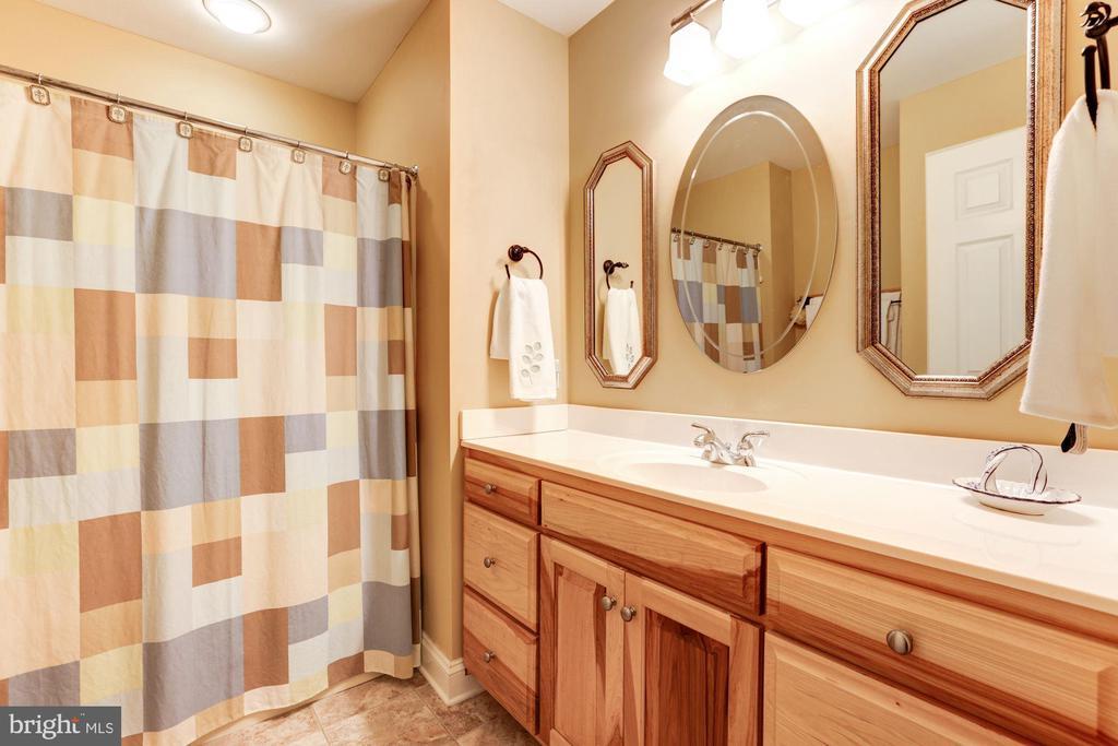 Lower level owner's suite bathroom - 2407 FLAG MARSH RD, MOUNT AIRY