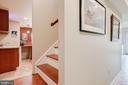 Basement Staircase - 350 ANGELS WAY, WINCHESTER