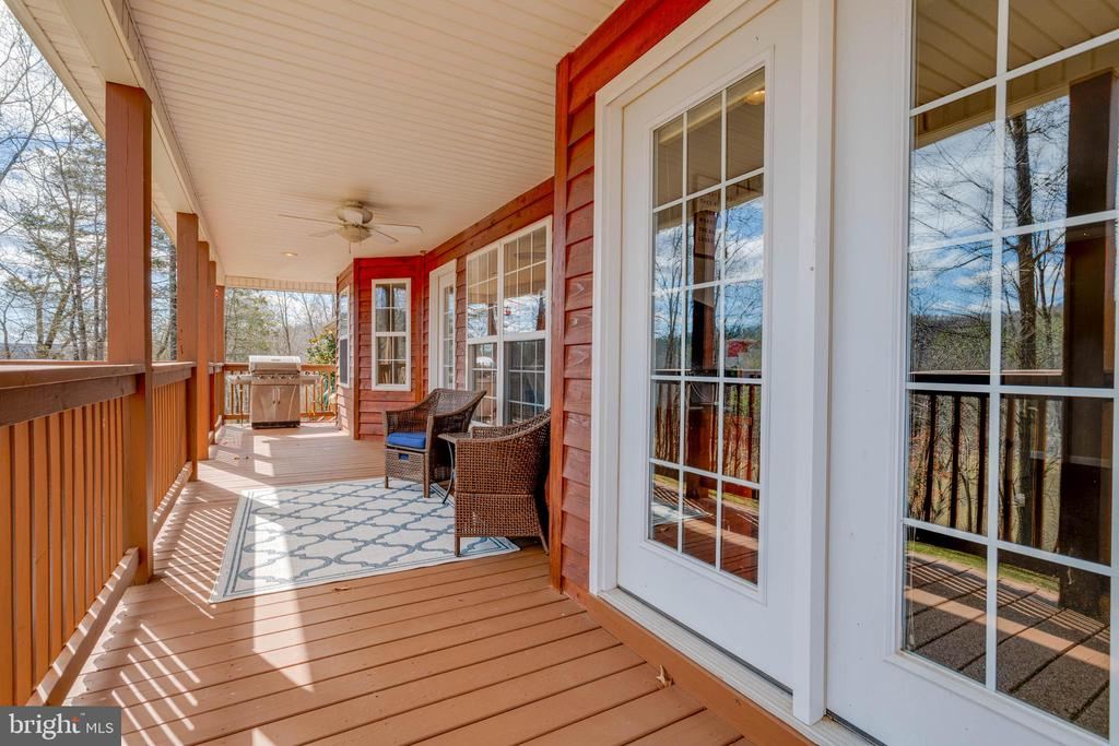 Rear Porch - 350 ANGELS WAY, WINCHESTER