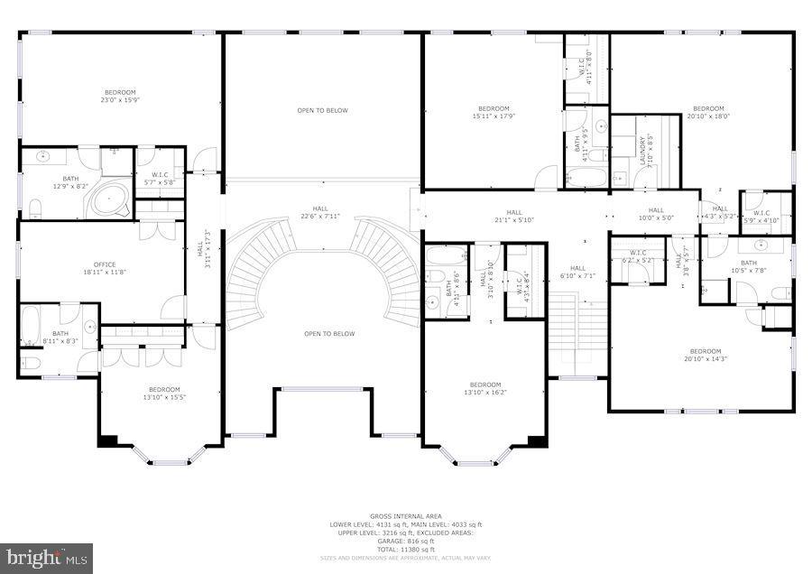 Floorplan - 896 ALVERMAR RIDGE DR, MCLEAN
