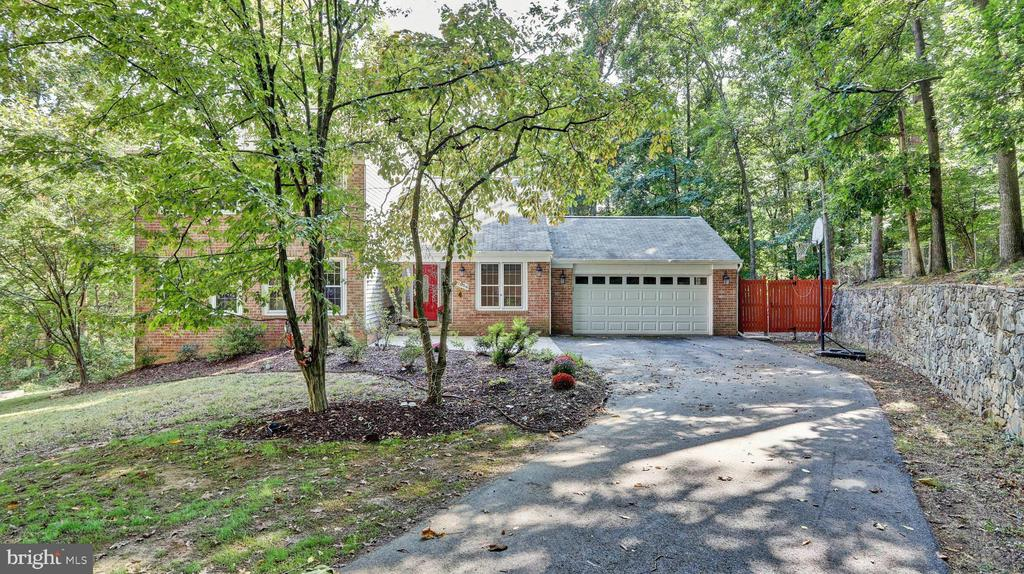 Private stone wall... - 7504 GLENNON DR, BETHESDA