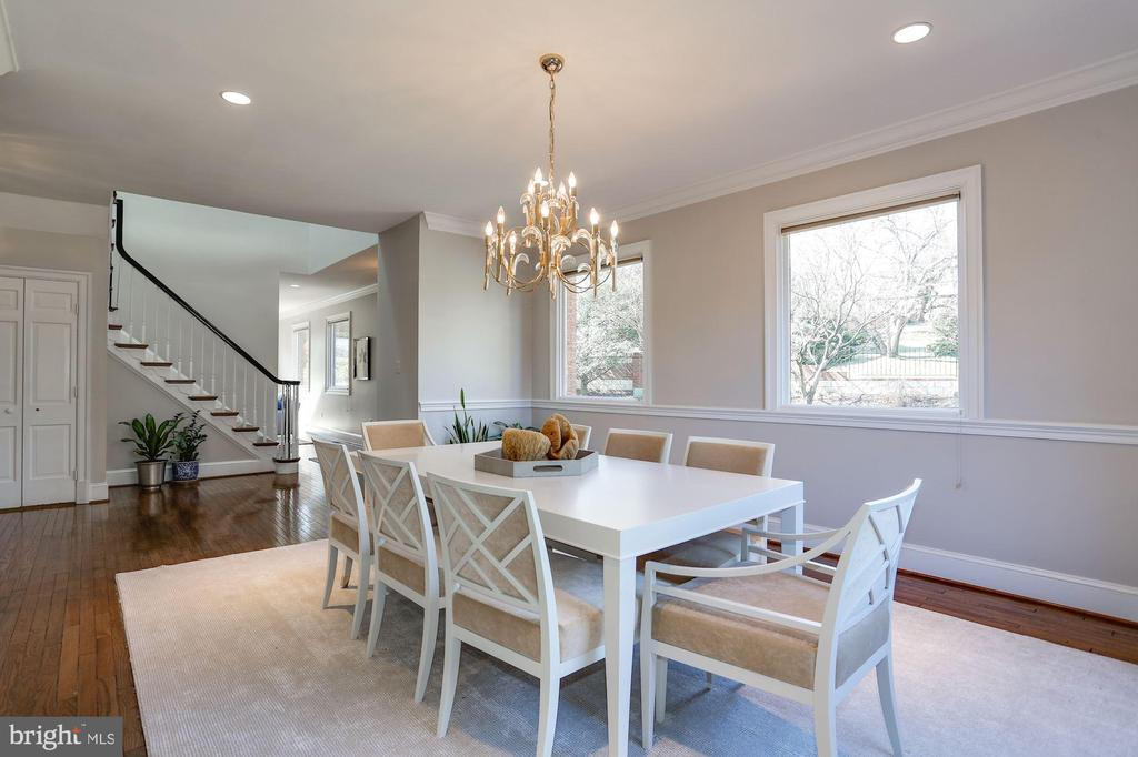 Dining room - 1412 COVENTRY LN, ALEXANDRIA