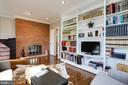 Library with fireplace - 1412 COVENTRY LN, ALEXANDRIA