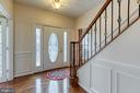Ample natural light floods the front entry - 118 NORTHAMPTON BLVD, STAFFORD