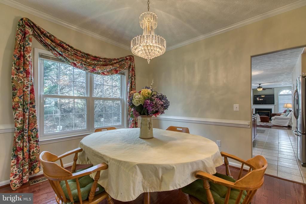 Formal dining room opens to large kitchen - 118 NORTHAMPTON BLVD, STAFFORD