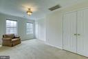 Large sitting area off master suite - 118 NORTHAMPTON BLVD, STAFFORD