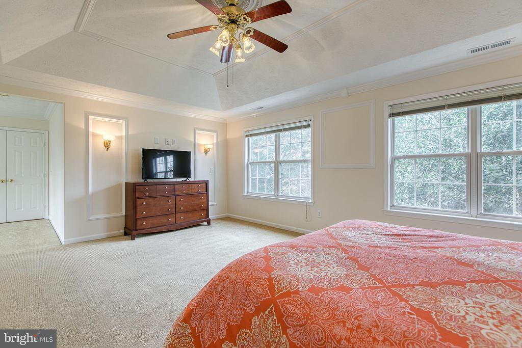 Natural light enhances this master suite - 118 NORTHAMPTON BLVD, STAFFORD