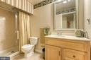 Additional full bath on the lower level - 118 NORTHAMPTON BLVD, STAFFORD