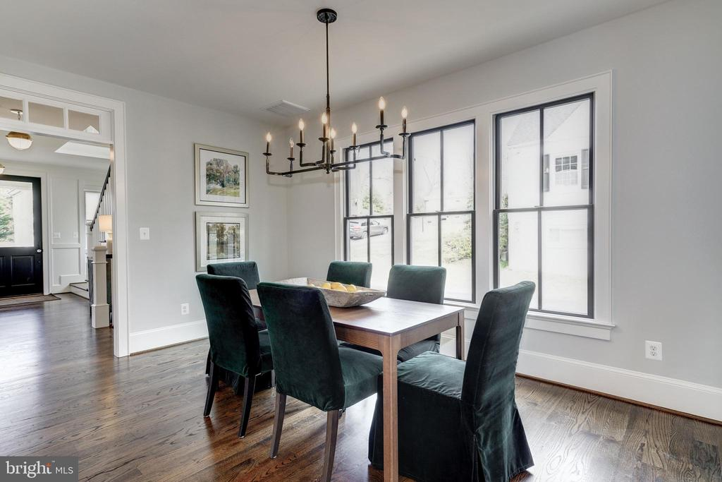 large dining area off kitchen for daily use - 4856 33RD RD N, ARLINGTON