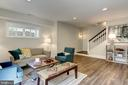 Lower level rec room with multiple uses - 4856 33RD RD N, ARLINGTON