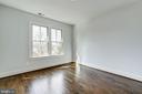 bed wall in second upstairs bedroom - 4856 33RD RD N, ARLINGTON
