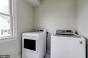 washer, dryer with floordrain to outside - 4856 33RD RD N, ARLINGTON