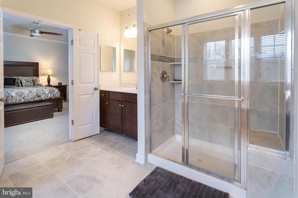 View of Mater Bathroom to Master Bedroom - 6109 HUNT WEBER DR, CLINTON