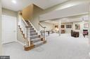 Spacious Lower Level Living Area - 18348 FAIRWAY OAKS SQ, LEESBURG