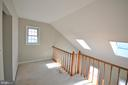 Loft space for work, crafts, play, you decide - 6490 BRICK HEARTH CT, ALEXANDRIA