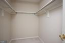 Master Bedroom Walk In Closet - 4 MONROE ST #302, ROCKVILLE