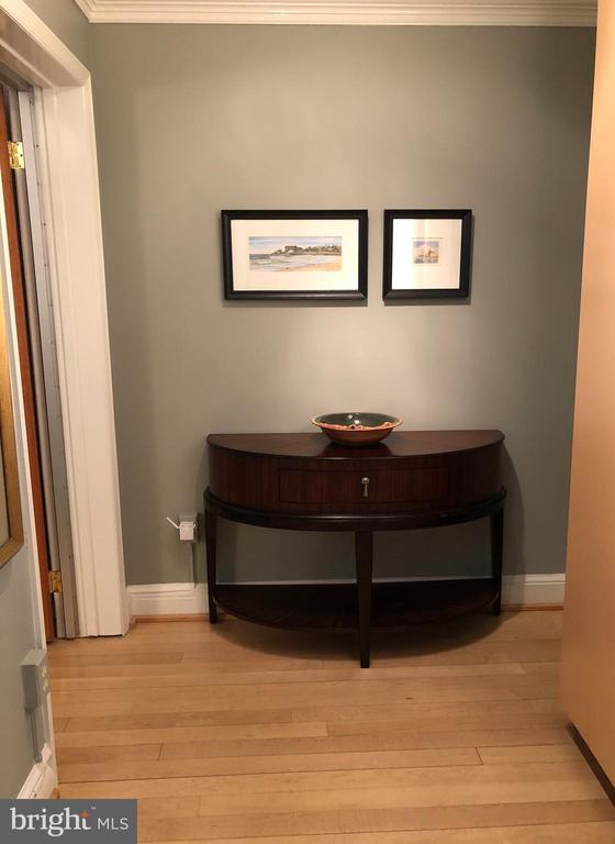 Vestibule area outside bedroom or office #1 - 5410 CONNECTICUT AVE NW #105, WASHINGTON