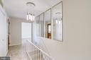 Beautiful lighting in the entry. Welcome Home. - 9211 ANTELOPE PL, SPRINGFIELD
