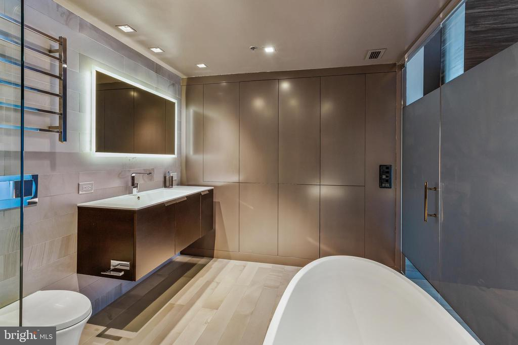 Master Bathroom Storage Cabinets - 2125 14TH ST NW #301W, WASHINGTON