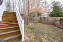 Deck stairs - 9211 ANTELOPE PL, SPRINGFIELD