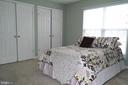 Large closet and lots of light in Bedroom. - 134 BRADDOCK ST, CHARLES TOWN