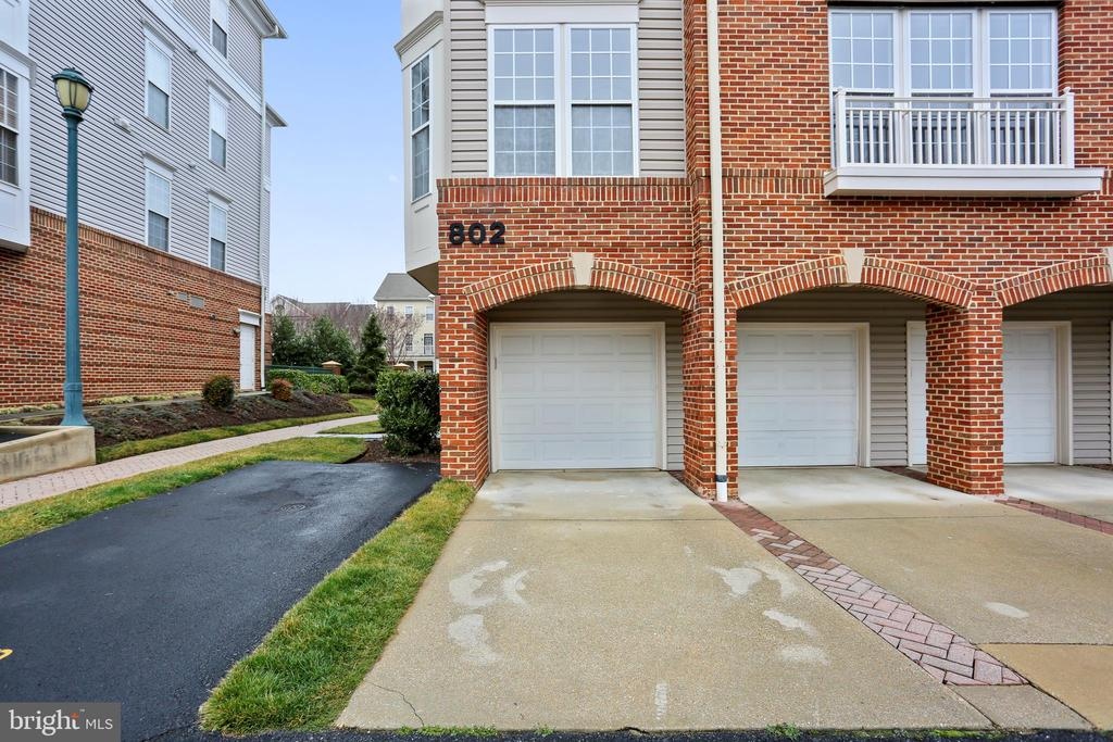 Garage is heated and has additional parking pad - 802 GRAND CHAMPION DR #11-302, ROCKVILLE