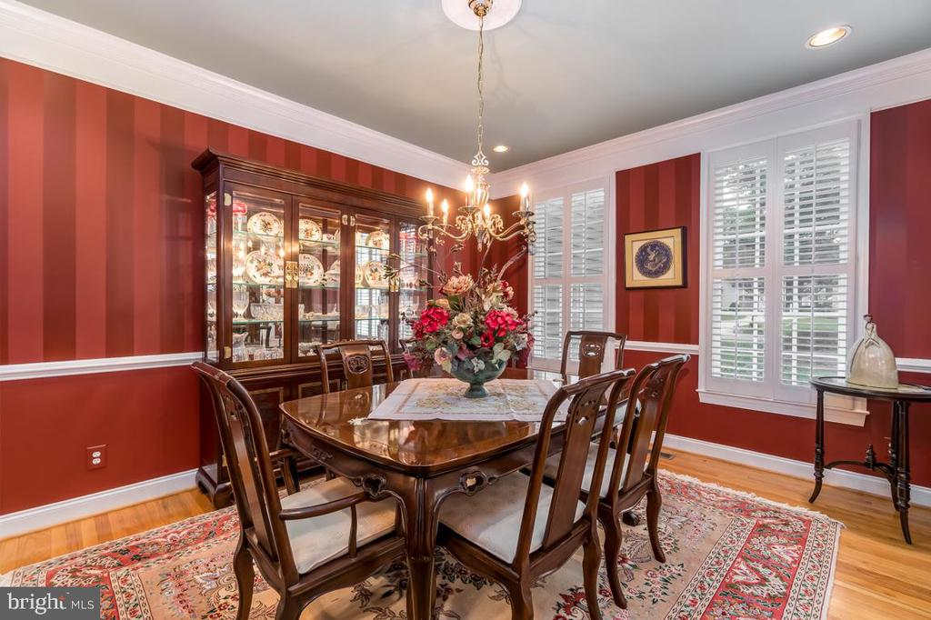 Formal dining Room - 11519 GENERAL WADSWORTH DR, SPOTSYLVANIA