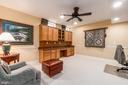 Private Study with twin built-in desks & storage - 11519 GENERAL WADSWORTH DR, SPOTSYLVANIA