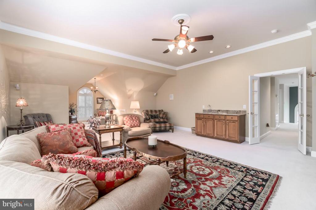 Bonus Room with Wet Bar. - 11519 GENERAL WADSWORTH DR, SPOTSYLVANIA