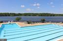 Competition size  pool & Swim team! - 11519 GENERAL WADSWORTH DR, SPOTSYLVANIA